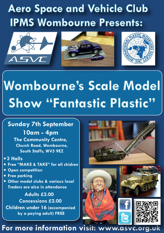 Wombourne S Scale Model Show 2014 Aero Space Amp Vehicle Club